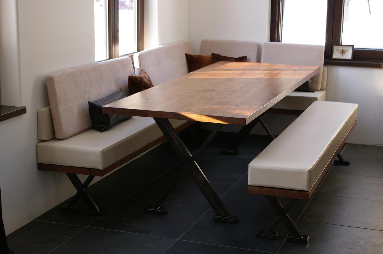 banquette de table fashion designs. Black Bedroom Furniture Sets. Home Design Ideas